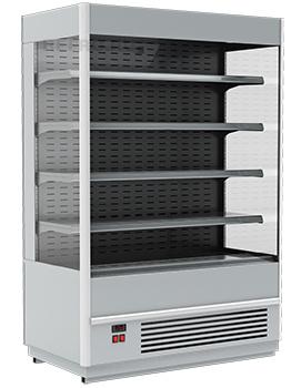 Горка холодильная  в аренду Carboma Cube 1060 мм, универсальная, режим 0 +7 градусов