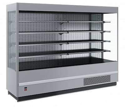 Горка холодильная в аренду Carboma Cube 1995 мм, универсальная, режим 0 +7 градусов
