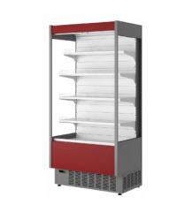 Пристенная холодильная витрина горка в аренду 1.0 Cube, температурный режим +1 +10 градусов, гастрономическая, компактная
