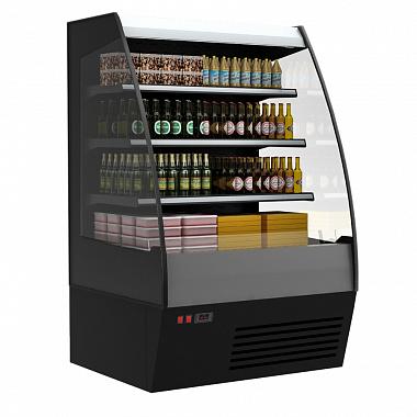 Горка холодильная Carboma в аренду F16-08 TOKYO 1042 мм, режим охлаждения +2 +7 градусов, для самообслуживания