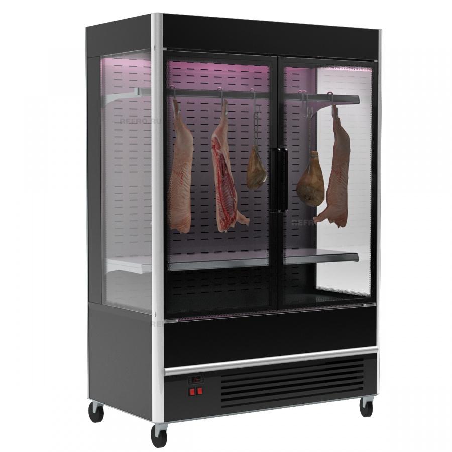 Холодильная горка в аренду для мяса 1330 мм Полюс FC20-07, режим охлаждения -5 +5 градусов