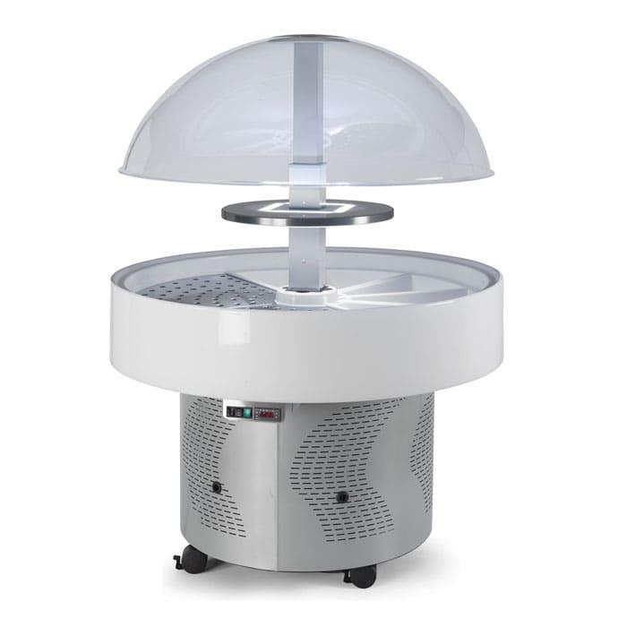 Аренда купольной холодильной витрины Scaiola VIP, среднетемпературный режим от +3...+10C градусов