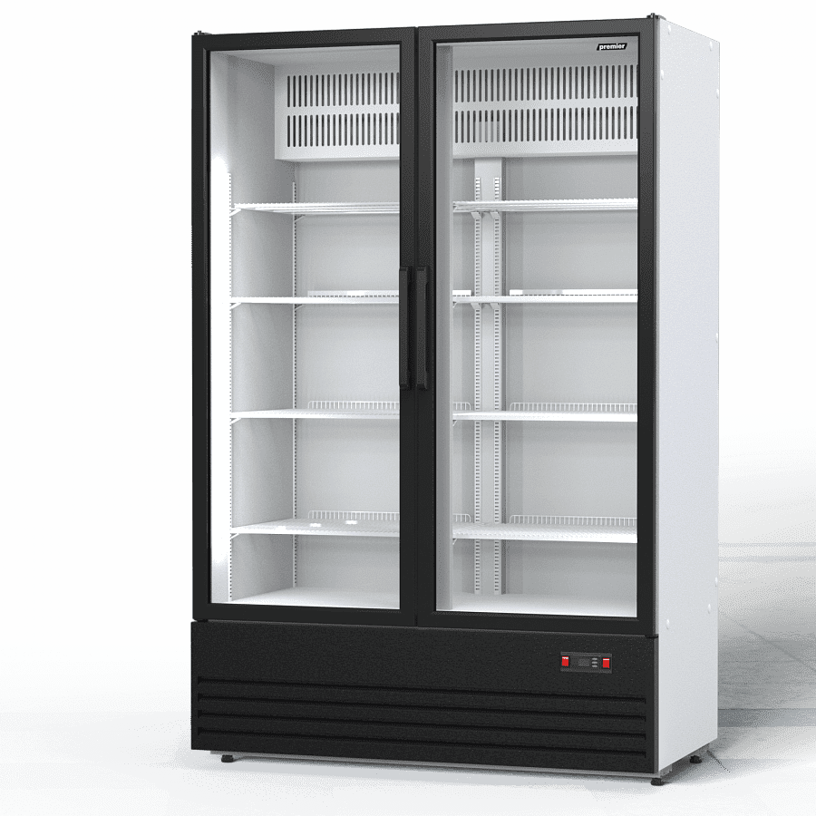 Холодильник для цветов в аренду 1000 л Премьер PR, температурный режим от +3...+10C, распашные двери, статическое охлаждение