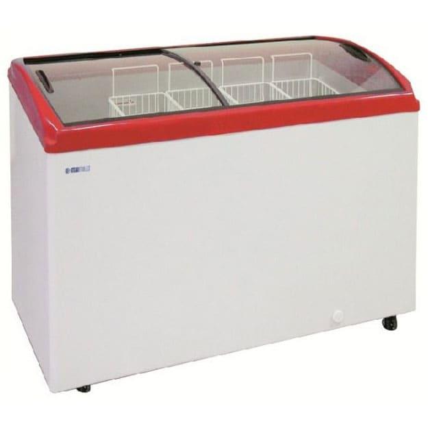 Морозильный ларь в аренду 400 л Italfrost, температурный режим -18C градусов, гнутое стекло (морозильная камера)