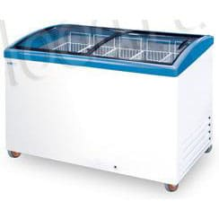 Холодильный ларь в аренду 400 л Italfrost, универсальный температурный режим +2...-18C градусов, гнутое стекло