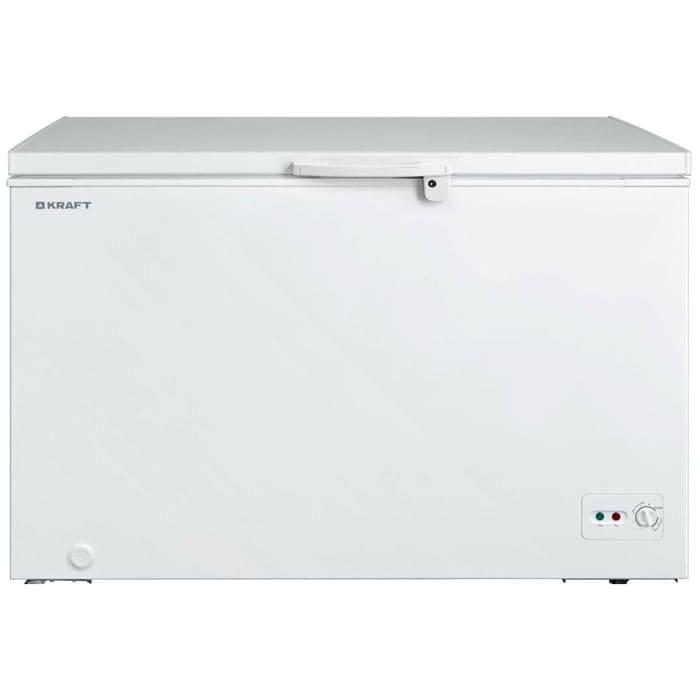 Морозильный ларь в аренду 520 л Kraft, температурный режим -18...-20C градусов, белый, глухая крышка