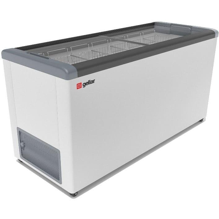 Морозильный ларь в аренду Frostor Gellar FG 600, режим -12...-25 C, прямое стекло