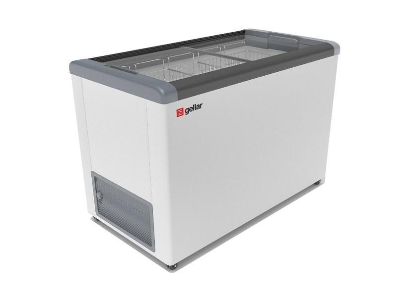 Морозильный ларь в аренду Frostor Gellar FG 500, режим -18 градусов, прямое стекло