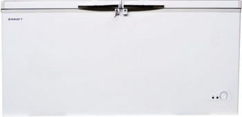 Морозильный ларь в аренду 600 л Kraft, температурный режим -18 градусов, белый, глухая крышка