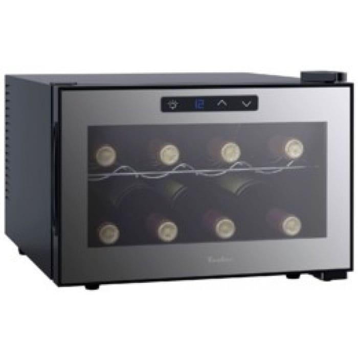 Холодильник для вина в аренду на 8 бутылок Tesler, режим от  +11 C до +18 C, электронное управление.