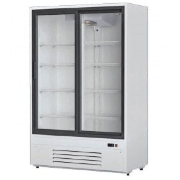 Аренда холодильника 1100 л МХМ купе, среднетемпературный режим от 0...+10C, раздвижные двери, высота 2000 мм