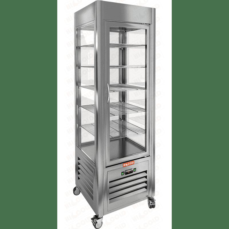 Аренда холодильника Hicold 350 обзорный, среднетемпературный режим от +2...+10C, высота 1915 мм