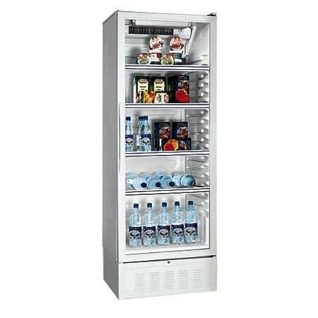 Аренда холодильника 410 л Атлант, среднетемпературный режим от +1...+10C, рекламный, витринного типа, высота 1840 мм