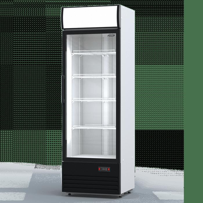 Аренда холодильника 600 л Премьер PR, универсальный температурный режим от -5...+5C градусов, рекламный витринный
