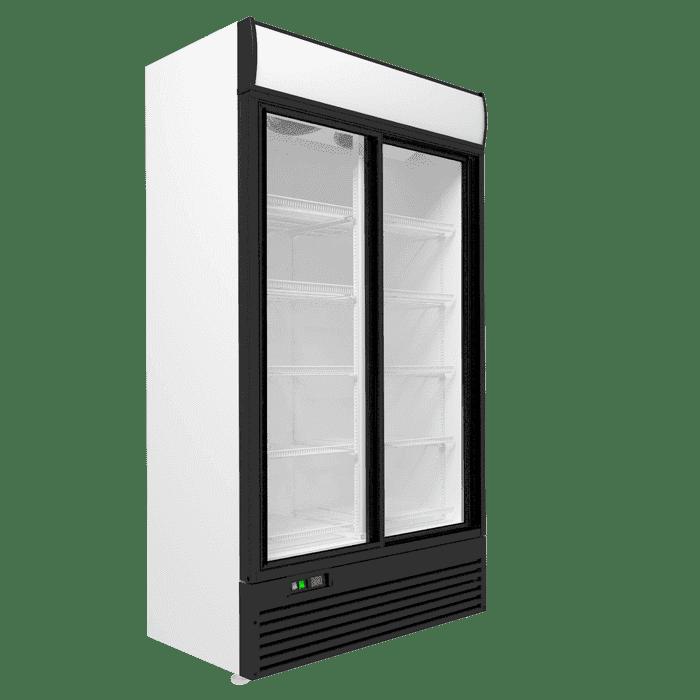Холодильный шкаф двухдверный в аренду LARGE 1165 л, режим +1...+10