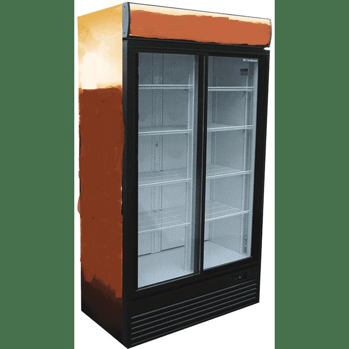 Холодильный шкаф двухдверный в аренду LARGE 1165 л, режим +1 +10 градусов