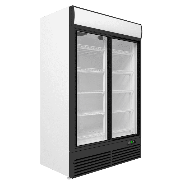 Холодильный шкаф двухдверный в аренду SUPER LARGE 1350 л, режим +1...+10