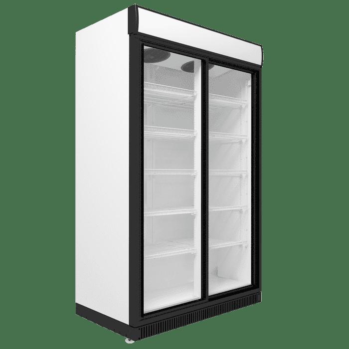 Холодильный шкаф двухдверный в аренду EXTRA LARGE 1510 л, режим +1...+10