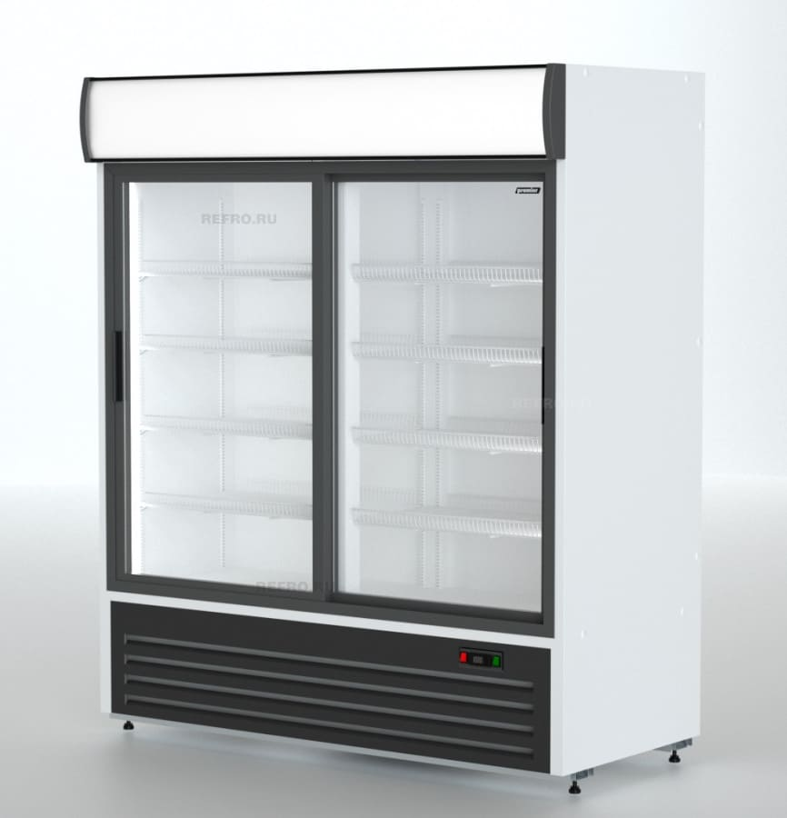 Холодильник в аренду 1120 л Премьер PR, температурный режим от -6…+6, двери купе, динамическое охлаждение
