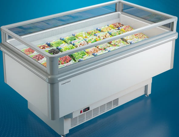 Бонета морозильная в аренду ITON 1854 мм открытая, низкотемпературный режим от -18...-24 градусов
