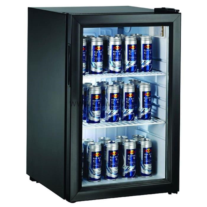 Барный холодильник в аренду 68 литров, с подсветкой, температурный диапазон +1...+10 С.