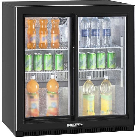 Холодильник барный в аренду 185 литровый двухдверный купе, с подсветкой, температурный диапазон +1...+10 С