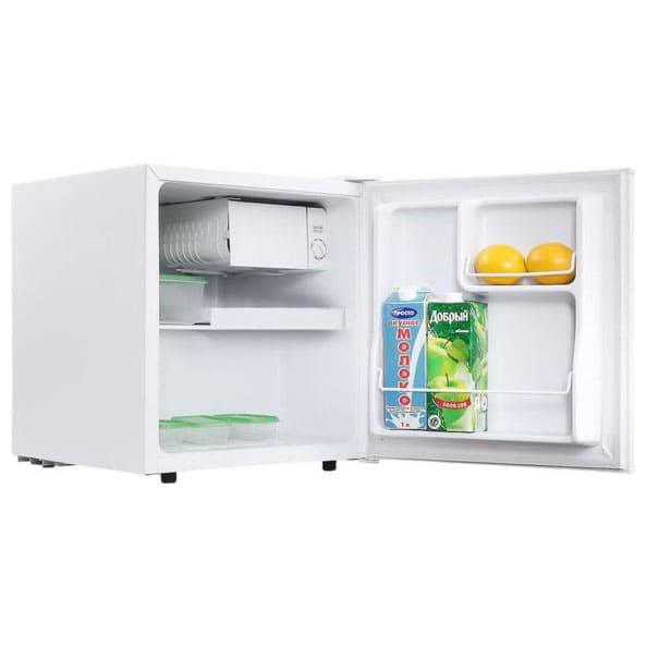 Барный холодильник в аренду 50 литровый Tesler, 45 л. холодильное отделение, 5 л. морозильное отделение, белый.