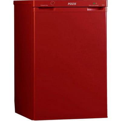 Холодильник в аренду барный Pozis 100 л., объем холодильной камеры 85 л., морозильное отделение 15 л., цвет рубиновый.