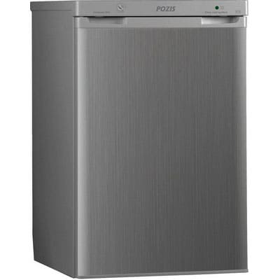 Холодильник в аренду барный Pozis 100 л., объем холодильной камеры 85 л., морозильное отделение 15 л., серебристый.