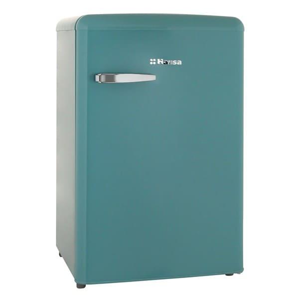 Холодильник в аренду барный Ретро 108 л., холодильная камера 93 л., морозильная камера 13, бирюзовый.