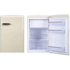 Холодильник в аренду барный Ретро 108 л., холодильная камера 93 л., морозильная камера 13 л., бежевый.