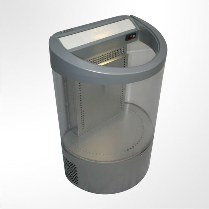 Холодильная витрина кулер в аренду Ugur T 100, демонстрационная, режим +2...+12 градусов, Ширина 640 мм., глубина 460 мм., высота 940 мм.