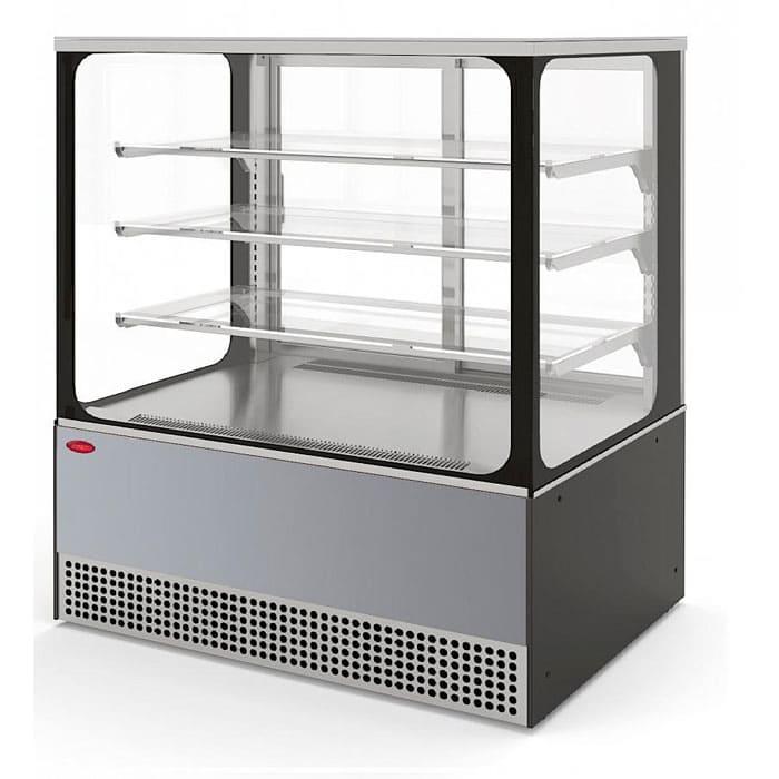 Холодильная витрина в аренду Veneto 1305 Cube нержавейка, среднетемпературный режим от 0…+7C, без запасника