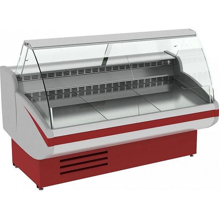 Холодильная витрина в аренду Cryspi Gamma 1218 мм, универсальный температурный режим от -6...+6C, для выставки и магазина