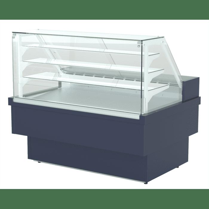 Витрина холодильная в аренду Премьер Куба-125 Bakery, режим +2…+6, динамическое охлаждение