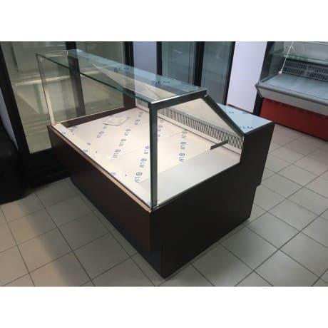 Витрина холодильная в аренду МХМ Илеть 1.5 м Cube, режим +5 -5 градусов, динамическое охлаждение