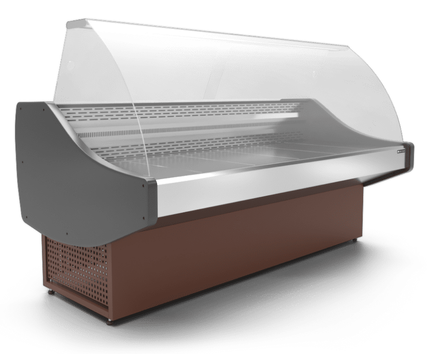Холодильная витрина в аренду Арктика 1810 мм, универсальный температурный режим -5 +5 градусов, с запасником