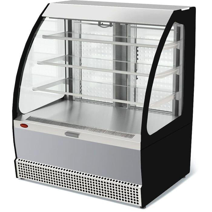 Холодильная витрина в аренду Veneto VSo-1,3 открытая для самообслуживания, режим +1 +10 градусов
