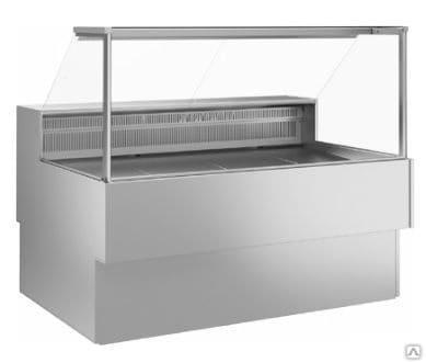 Витрина холодильная в аренду МХМ Илеть 1.2 м Cube, режим +5 -5 градусов, динамическое охлаждение