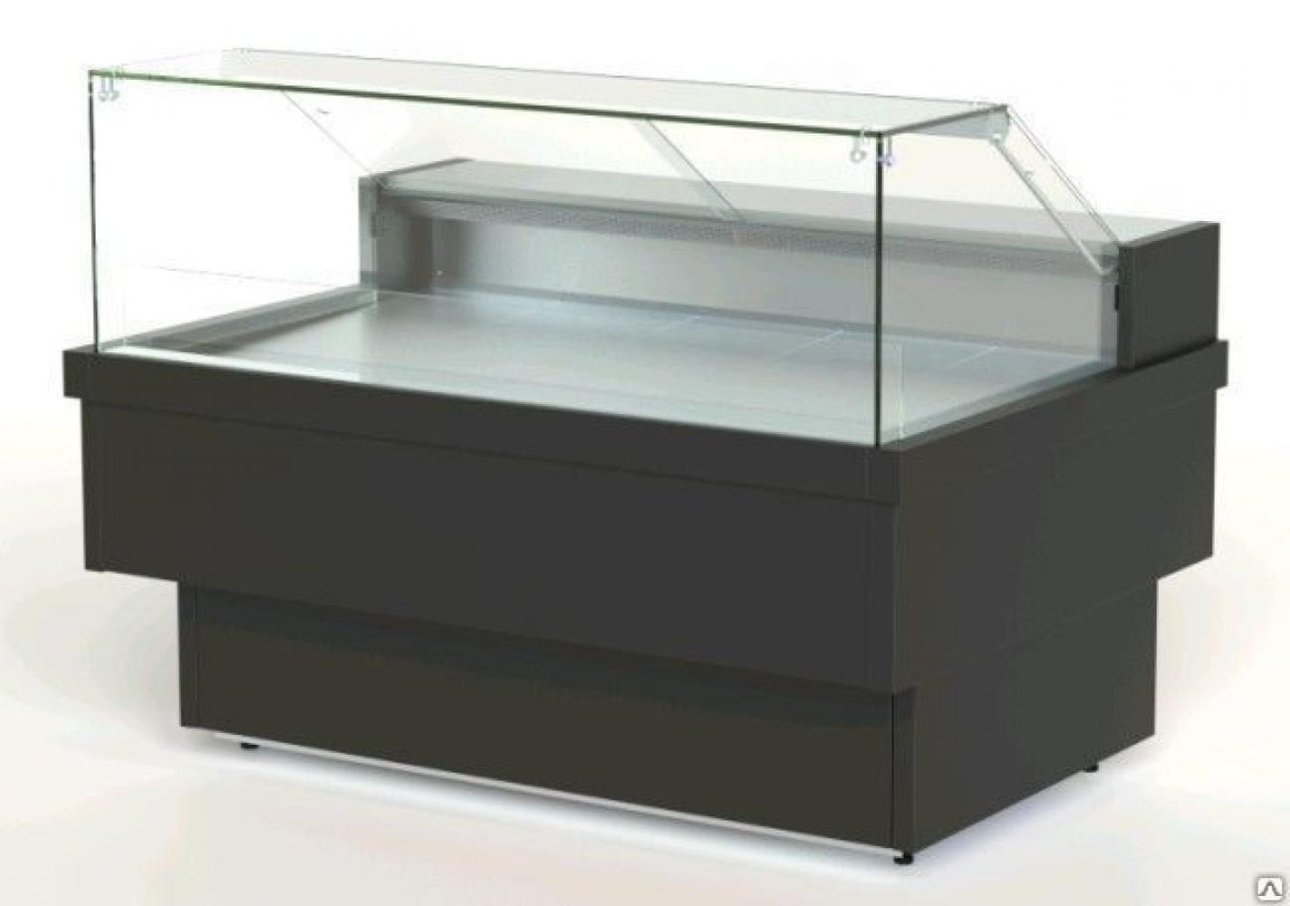 Холодильная витрина в аренду PR Куб 1370, универсальный режим +4 -4 градуса