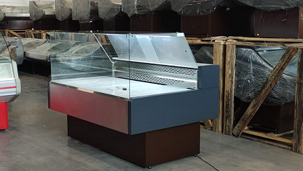 Холодильная витрина в аренду Арктика Куб, режим -5 +5 градусов, ширина 1612 мм