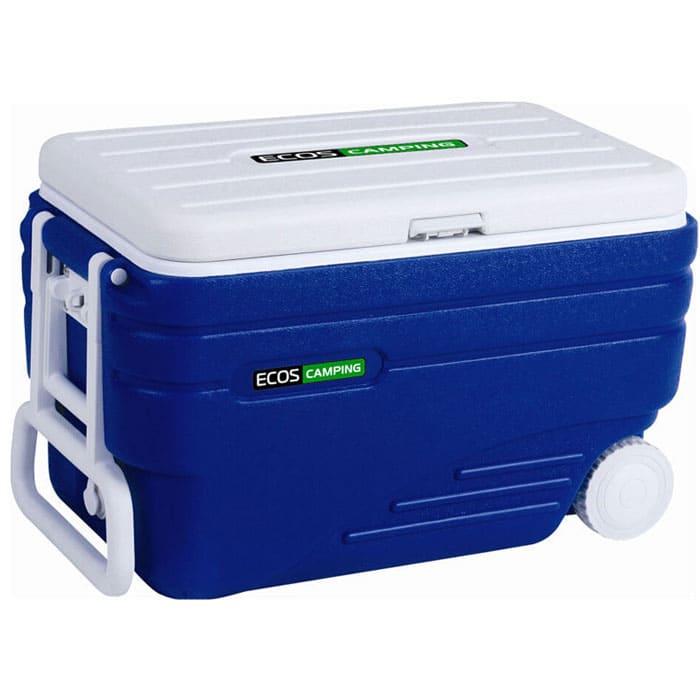 Термобокс в аренду 80 литров Экос (изотермический контейнер), с колесами и ручкой/